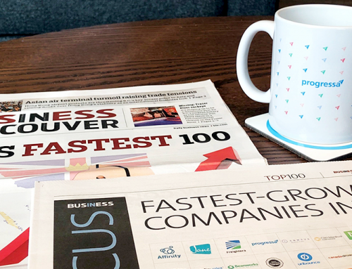 Progressa earns 4th in Business in Vancouver's Top 100 fastest-growing companies in B.C.